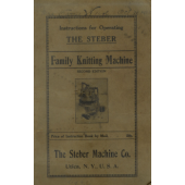 Steber Knitting Machine Instruction Book
