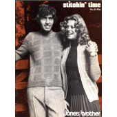 Jones-Brother Stitchin Time Issue 33 pattern book