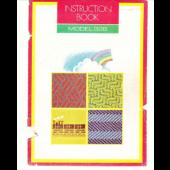 Studio 328 Knitting Machine Instruction Manual