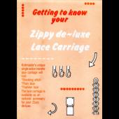 Studio LC2 Zippy De Luxe Lace Carriage User Manual