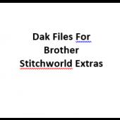 Brother Stitchworld Extras Pattern Files for Designaknit