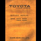 Toyota KS757 KS858 KR504 KR505 Service Manual