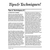 Studio Tips and Techinques Issue 11 Alternatives to Ribbing