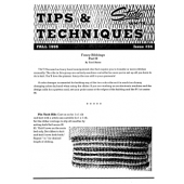 Studio Tips and Techniques Issue 34 Fancy Ribs - Part 2