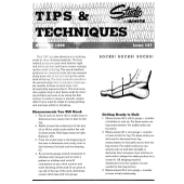 Studio Tips and Techniques Issue 37 Charting Socks
