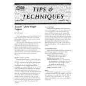 Studio Tips and Tricks V01 No.2 Finger Puppets