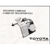 Toyota Transfer Carriage Manual