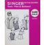 Singer Series 15 3 and 5 Ply Vests Plain and Buttoned