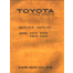 Toyota KS757 KS858 KR504 KR505 Service Manual